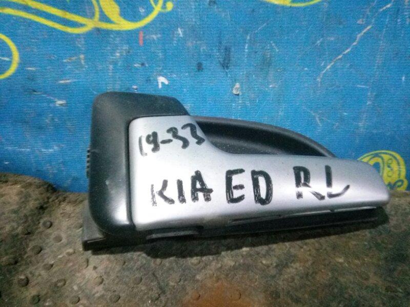 Ручка двери внутренняя Kia Ceed ED G4FC 2007 задняя левая