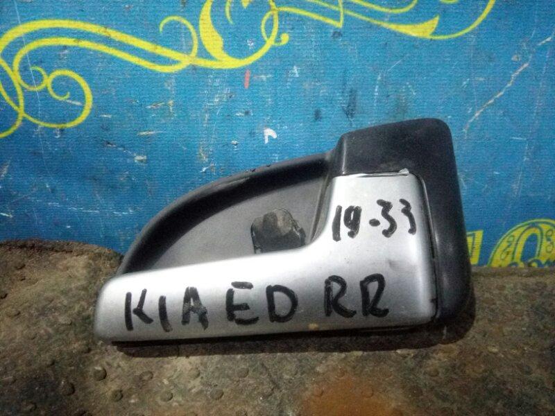 Ручка двери внутренняя Kia Ceed ED G4FC 2007 задняя правая