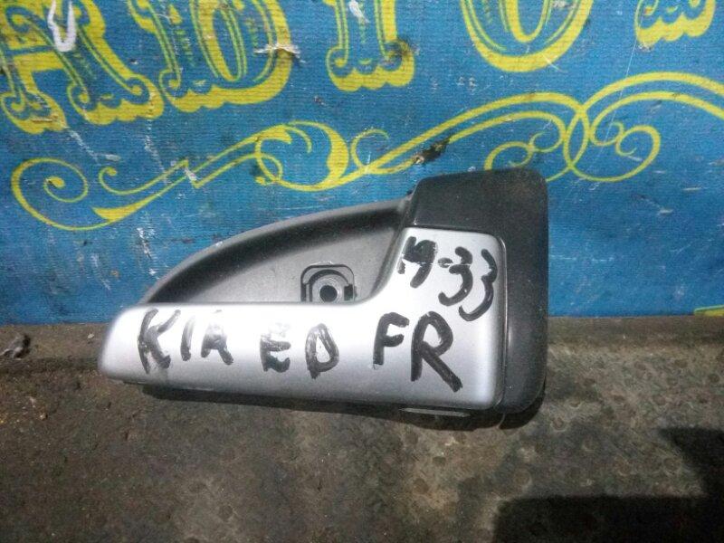 Ручка двери внутренняя Kia Ceed ED G4FC 2007 передняя правая