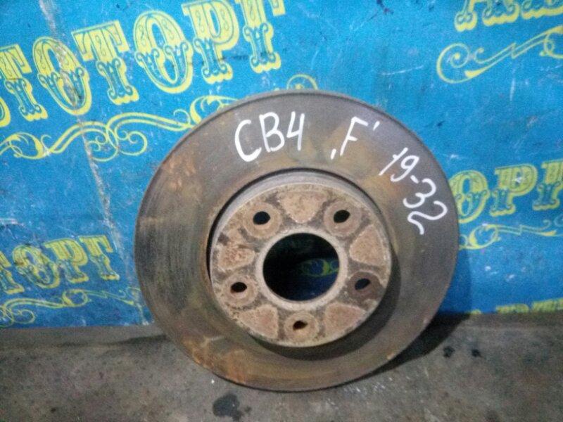 Тормозной диск Ford Focus 2 CB4 SHDB 2007 передний