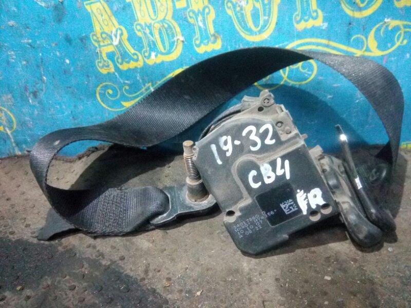 Ремень безопасности Ford Focus 2 CB4 SHDB 2007 передний правый