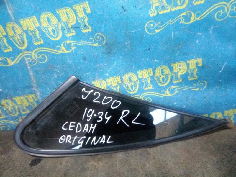 Форточка кузова Chevrolet Lacetti J200 F16D3 2007 задняя левая