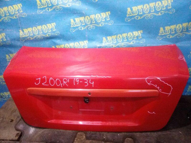 Крышка багажника Chevrolet Lacetti J200 F16D3 2007