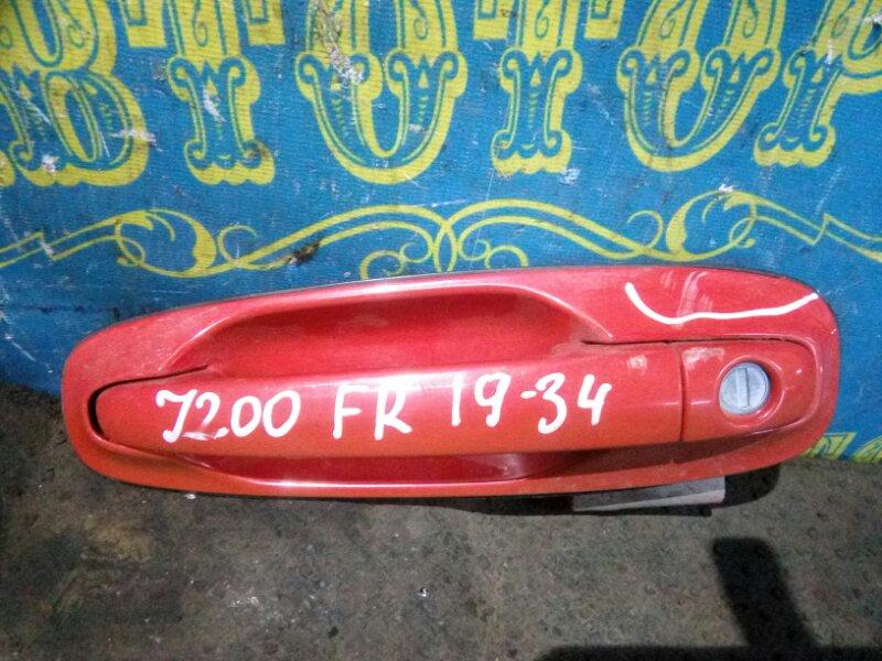 Ручка двери внешняя Chevrolet Lacetti J200 F16D3 2007 передняя правая