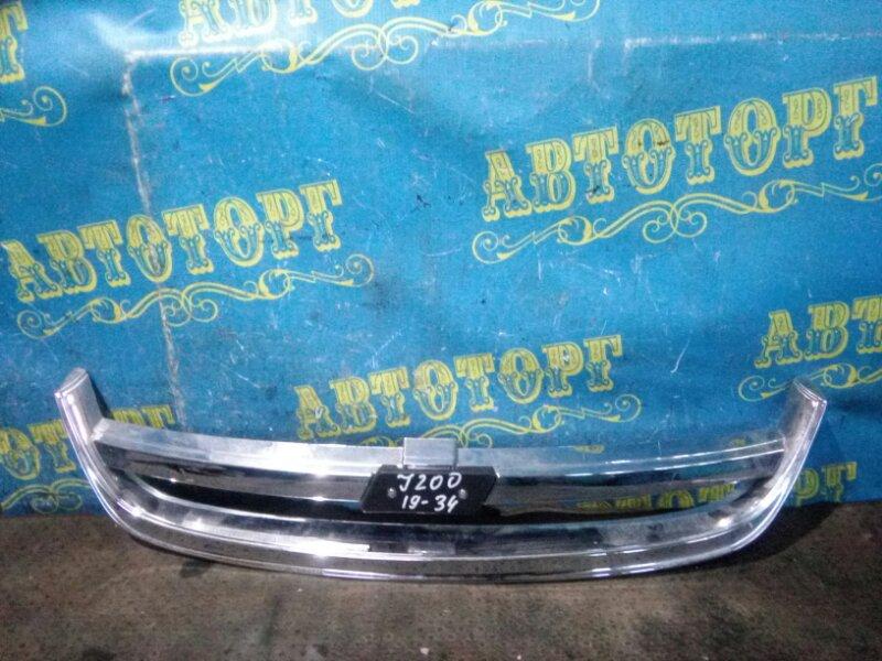 Решетка радиатора Chevrolet Lacetti J200 F16D3 2007