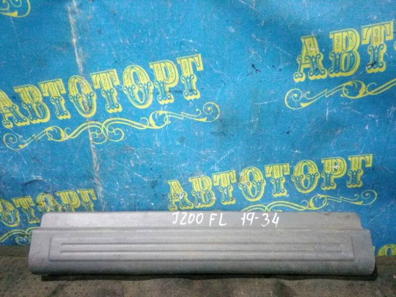 Порожек пластиковый Chevrolet Lacetti J200 F16D3 2007 передний левый