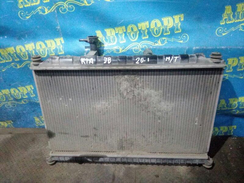 Радиатор основной Kia Rio JB G4EE 2011