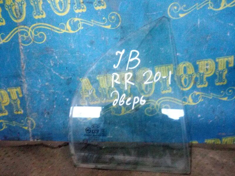 Форточка двери Kia Rio JB G4EE 2011 задняя правая