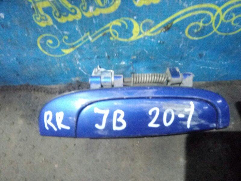 Ручка двери внешняя Kia Rio JB G4EE 2011 задняя правая