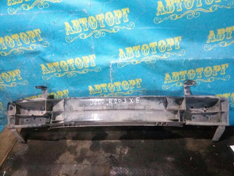 Усиление бампера Chevrolet Lacetti J200 F14D3 2007 заднее