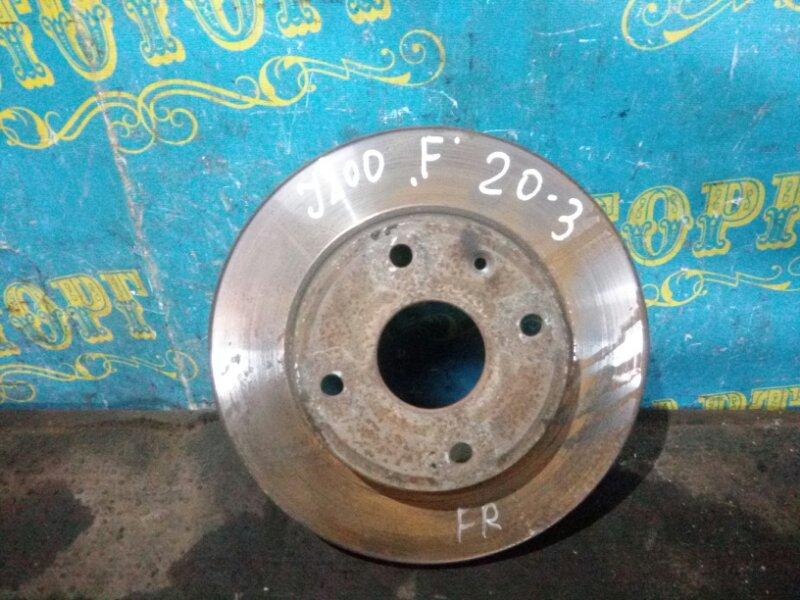 Тормозной диск Chevrolet Lacetti J200 F14D3 2007 передний