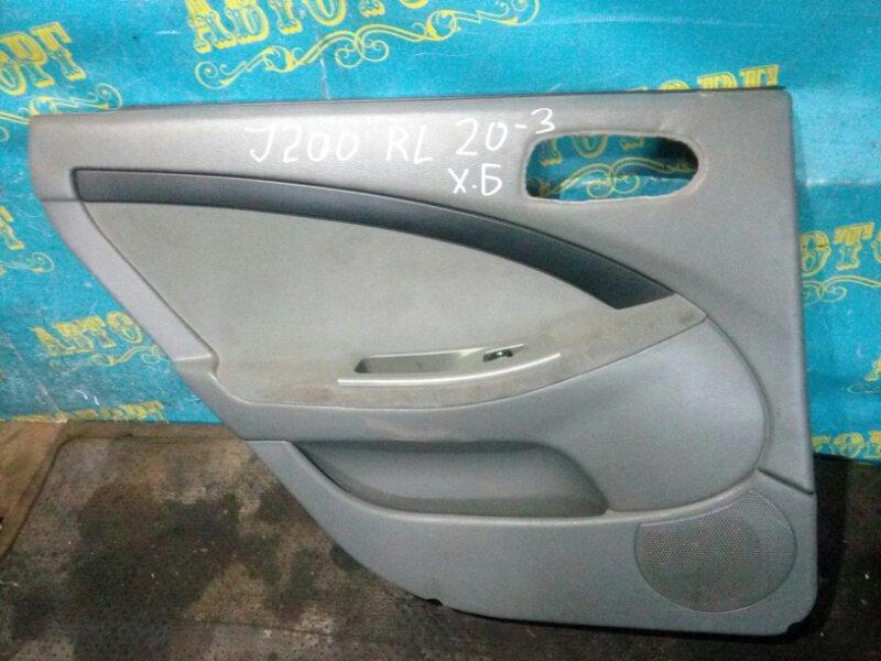 Обшивка дверей Chevrolet Lacetti J200 F14D3 2007 задняя левая