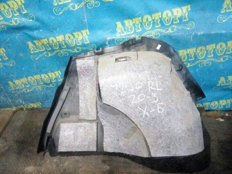 Обшивка багажника Chevrolet Lacetti J200 F14D3 2007 задняя левая