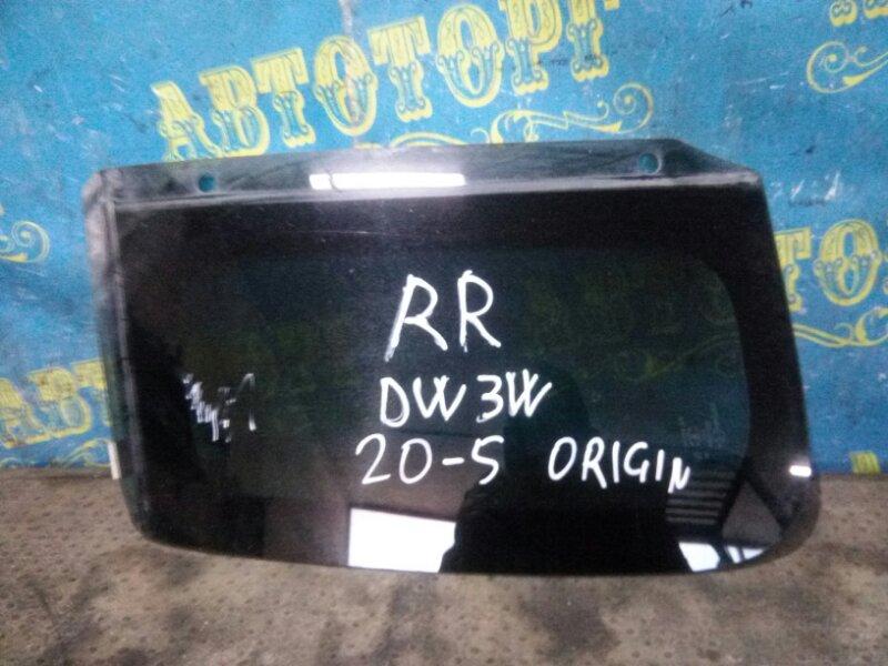 Стекло багажника Mazda Demio DW3W B3 1998 заднее правое
