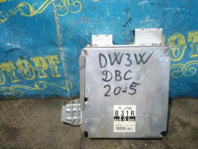 Блок управления двс Mazda Demio DW3W B3 1998