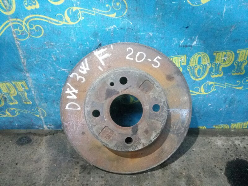 Тормозной диск Mazda Demio DW3W B3 1998 передний