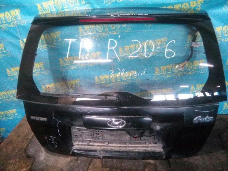 Дверь 5-я Hyundai Getz TB G4HG 2010