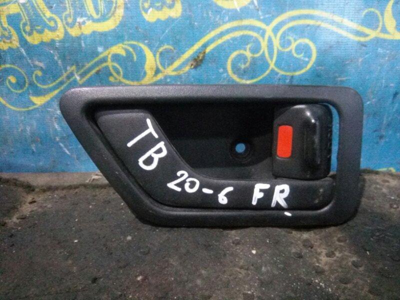 Ручка двери внутренняя Hyundai Getz TB G4HG 2010 передняя правая