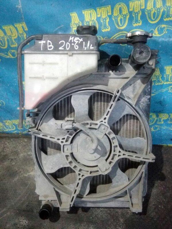 Радиатор основной Hyundai Getz TB G4HG 2010
