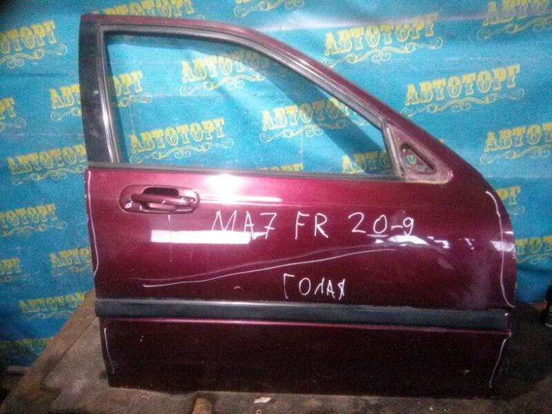 Дверь Honda Domani MA7 D15B 1996 передняя правая