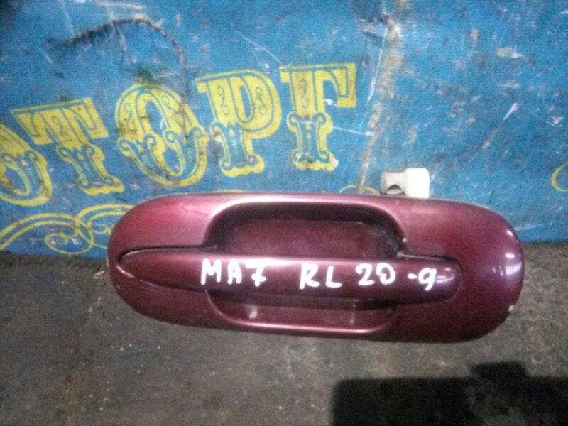 Ручка двери внешняя Honda Domani MA7 D15B 1996 задняя левая