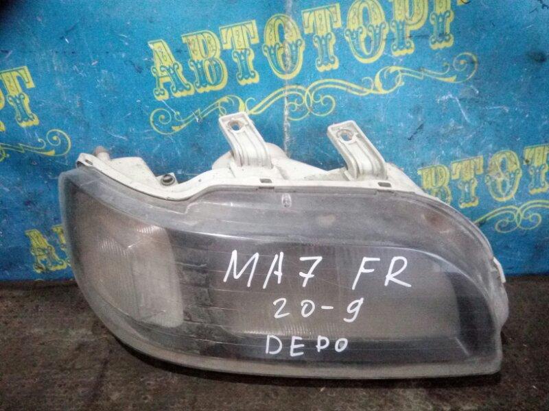 Фара Honda Domani MA7 D15B 1996 передняя правая