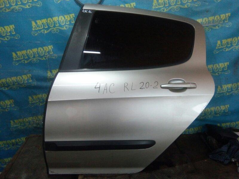 Дверь Peugeot 308 4AC EP6 2009 задняя левая
