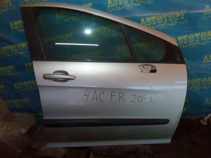 Дверь Peugeot 308 4AC EP6 2009 передняя правая