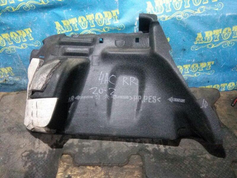 Обшивка багажника Peugeot 308 4AC EP6 2009 задняя правая