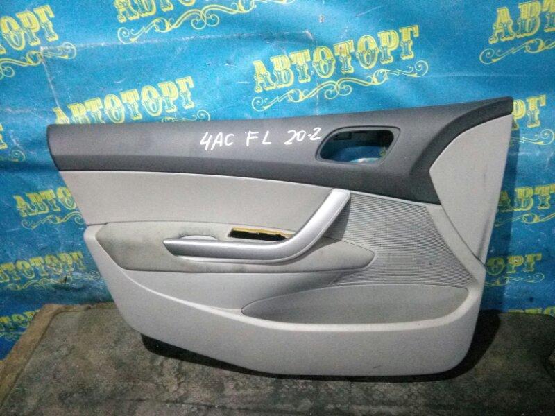 Обшивка дверей Peugeot 308 4AC EP6 2009 передняя левая