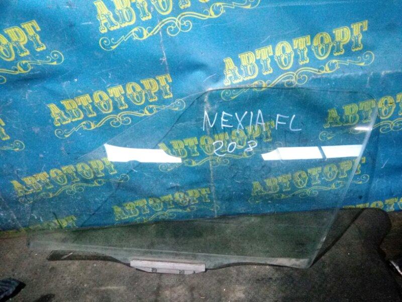Стекло двери Daewoo Nexia KLETN G15MF 1998 переднее левое