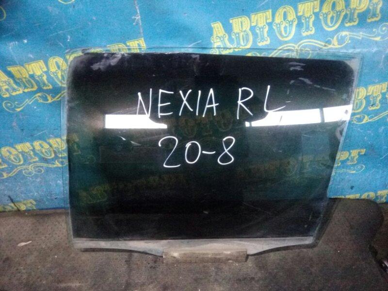 Стекло двери Daewoo Nexia KLETN G15MF 1998 заднее левое
