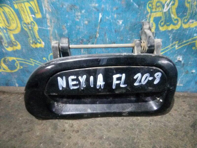 Ручка двери внешняя Daewoo Nexia KLETN G15MF 1998 передняя левая