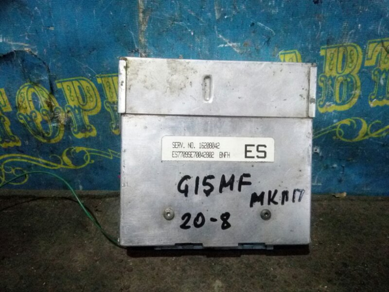 Блок управления двс Daewoo Nexia KLETN G15MF 1998