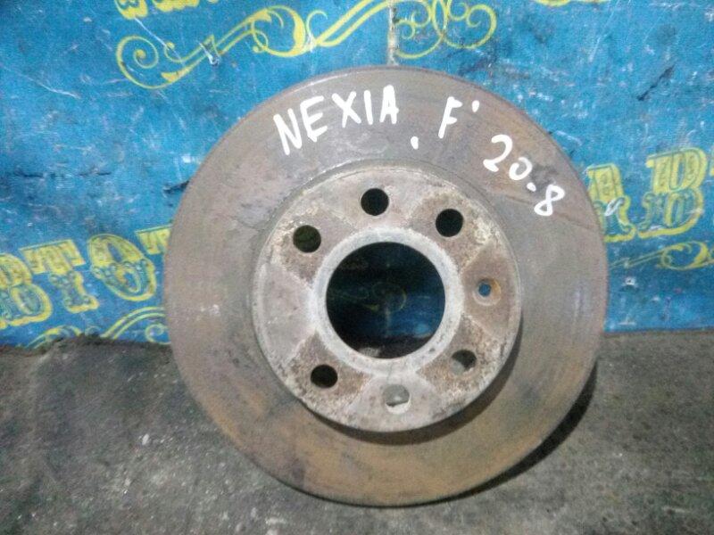 Тормозной диск Daewoo Nexia KLETN G15MF 1998 передний
