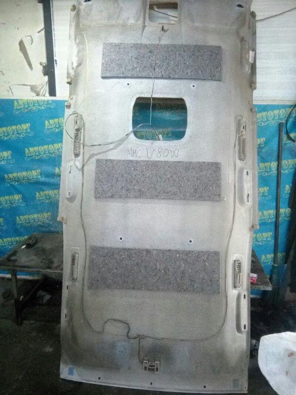 Обшивка потолка Mitsubishi Pajero V83W 4M41 2010