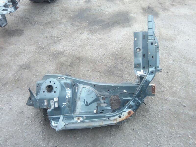 Лонжерон Honda Accord CM2 K24A передний правый