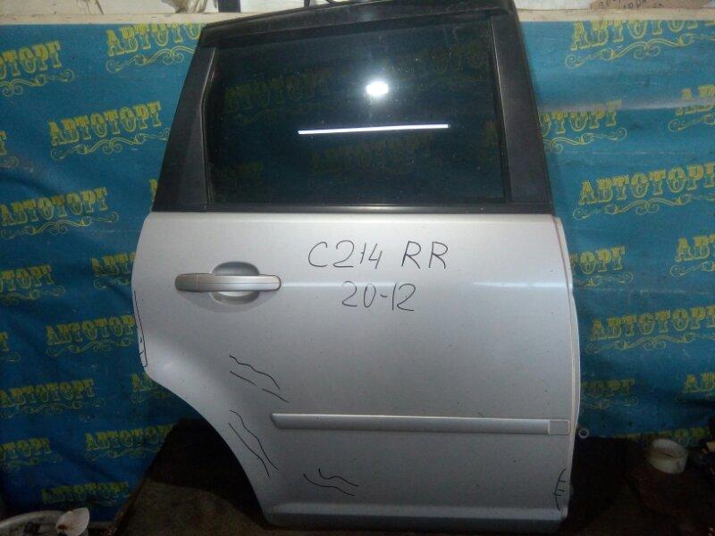 Дверь Ford C-Max C214 AODA 2005 задняя правая