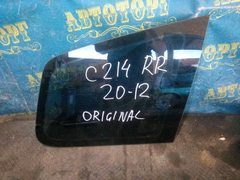Стекло багажника Ford C-Max C214 AODA 2005 заднее правое
