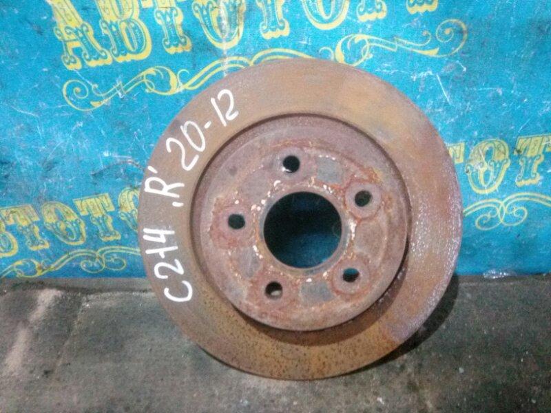 Тормозной диск Ford C-Max C214 AODA 2005 задний