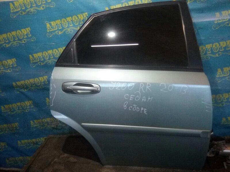 Дверь Chevrolet Lacetti J200 F14D3 2004 задняя правая