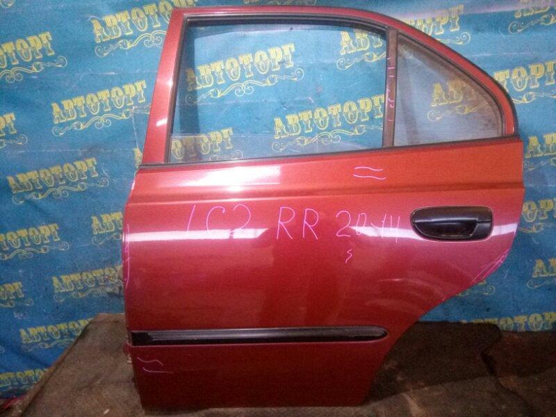 Дверь Hyundai Accent LC2 G4EC 2006 задняя левая