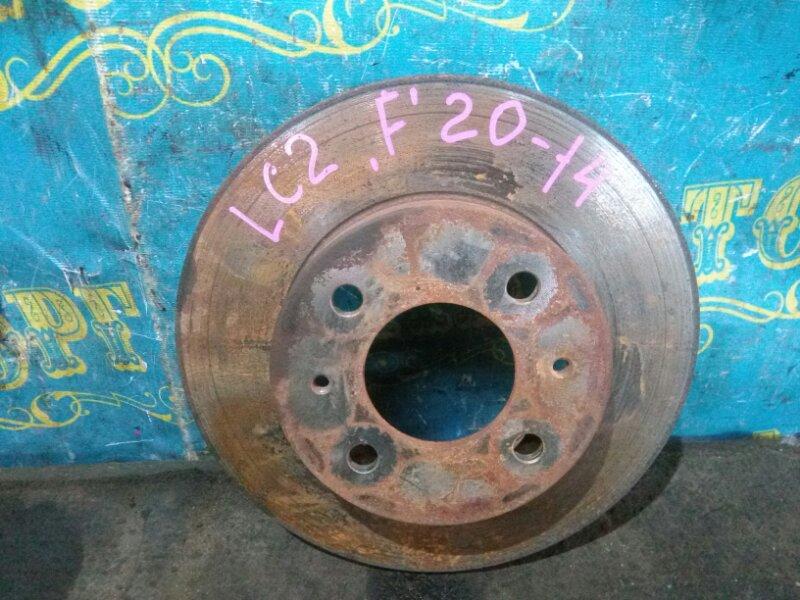 Тормозной диск Hyundai Accent LC2 G4EC 2006 передний