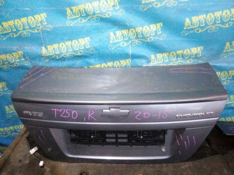 Крышка багажника Chevrolet Aveo T250 F14D4 2008