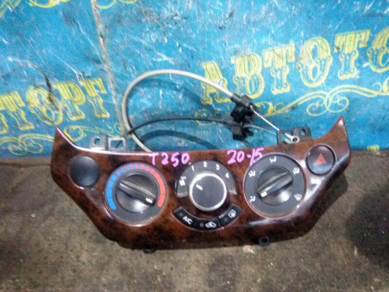 Блок управления климат-контролем Chevrolet Aveo T250 F14D4 2008