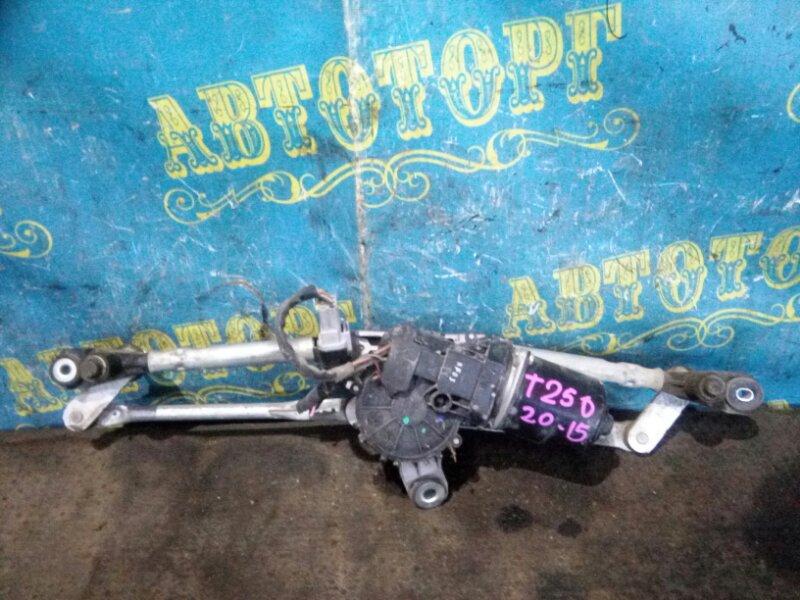 Трапеция дворников Chevrolet Aveo T250 F14D4 2008 передняя