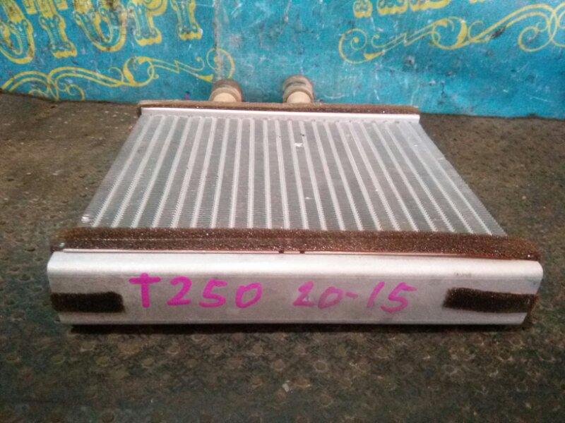 Радиатор печки Chevrolet Aveo T250 F14D4 2008 передний