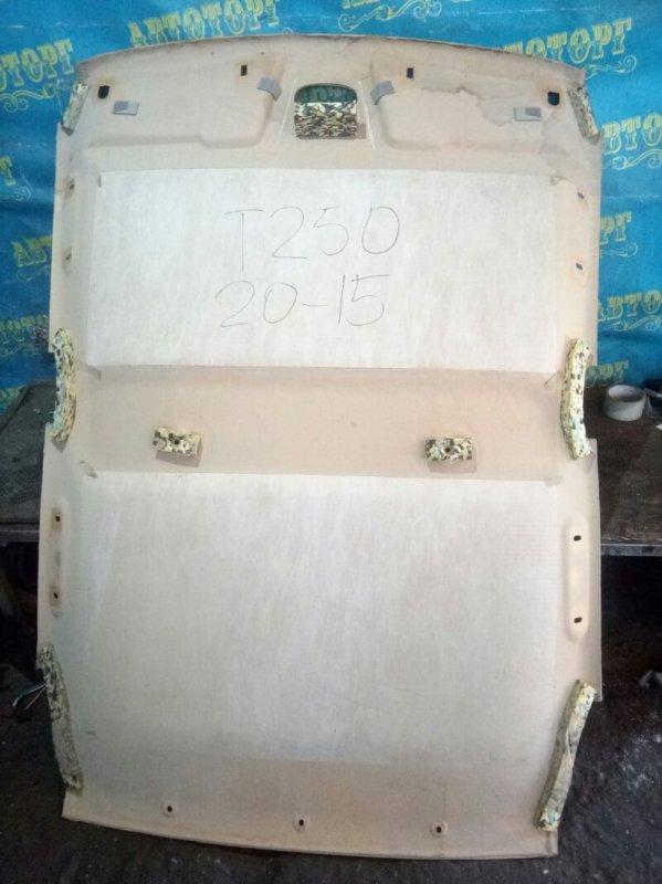 Обшивка потолка Chevrolet Aveo T250 F14D4 2008