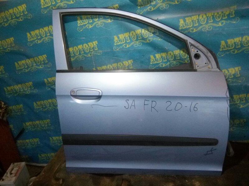 Дверь Kia Picanto SA G4HE 2007 передняя правая