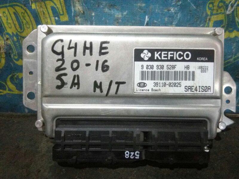 Блок управления двс Kia Picanto SA G4HE 2007
